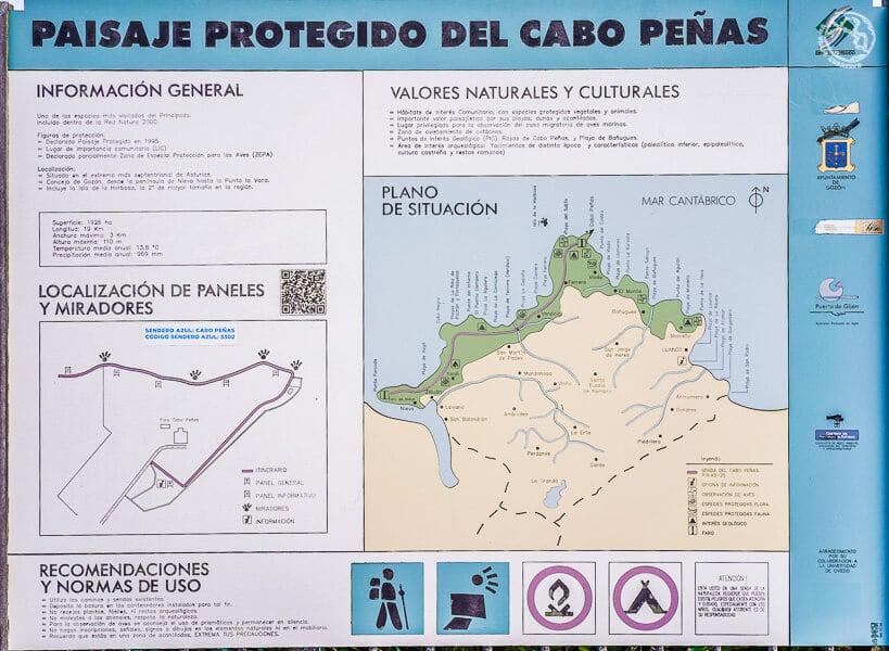 Ruta costera Cabo Peñas