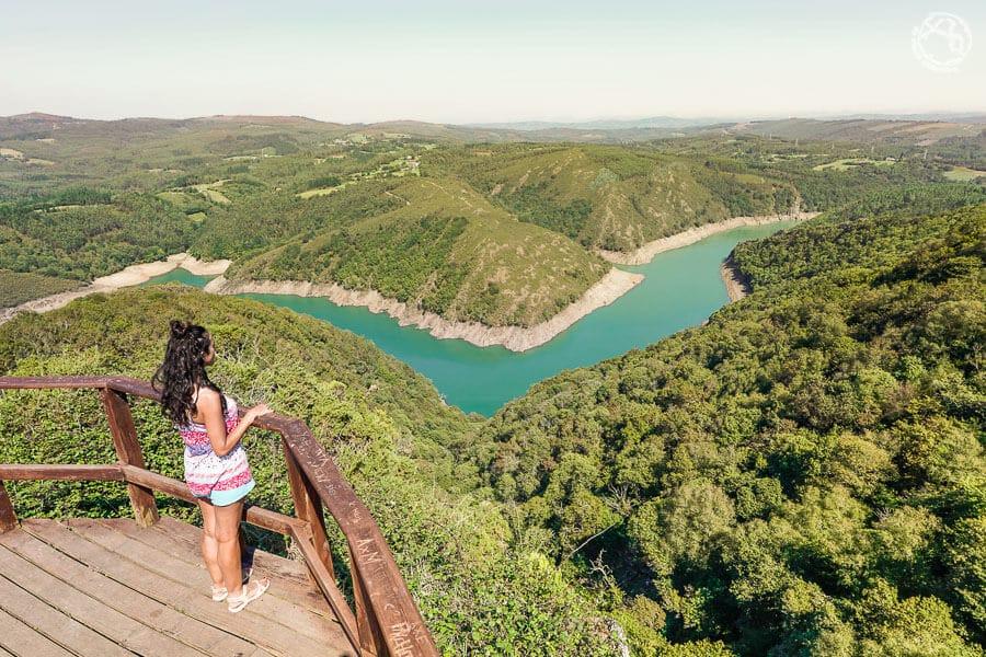 Paisajes de Galicia viaje Fragas do Eume
