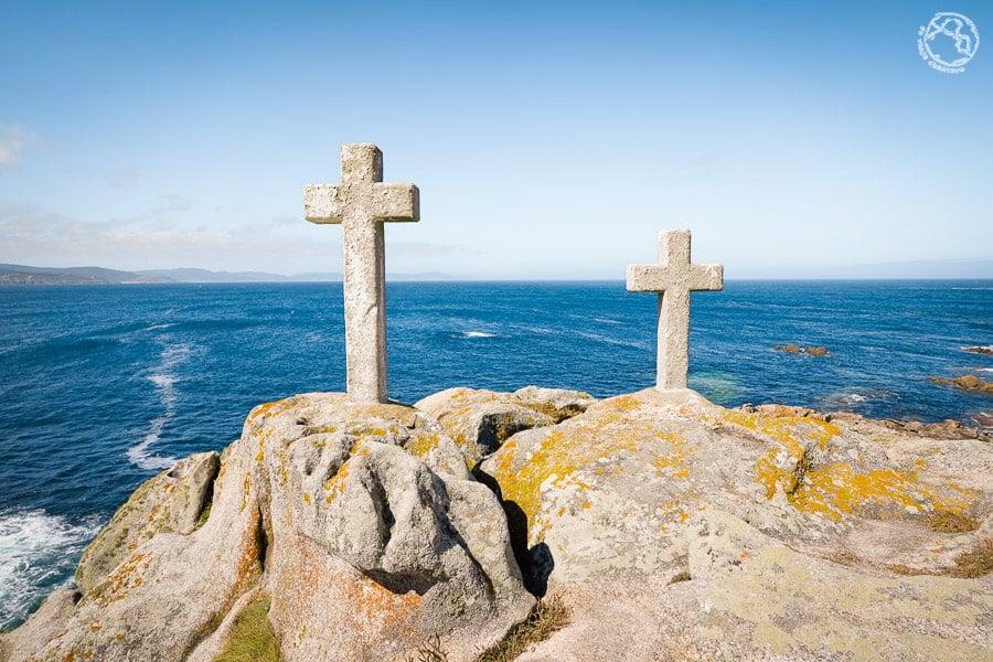 Percebeiros faro Roncudo cruces Costa da Morte