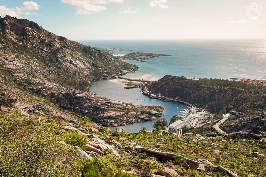 Ézaro Galicia paisaje