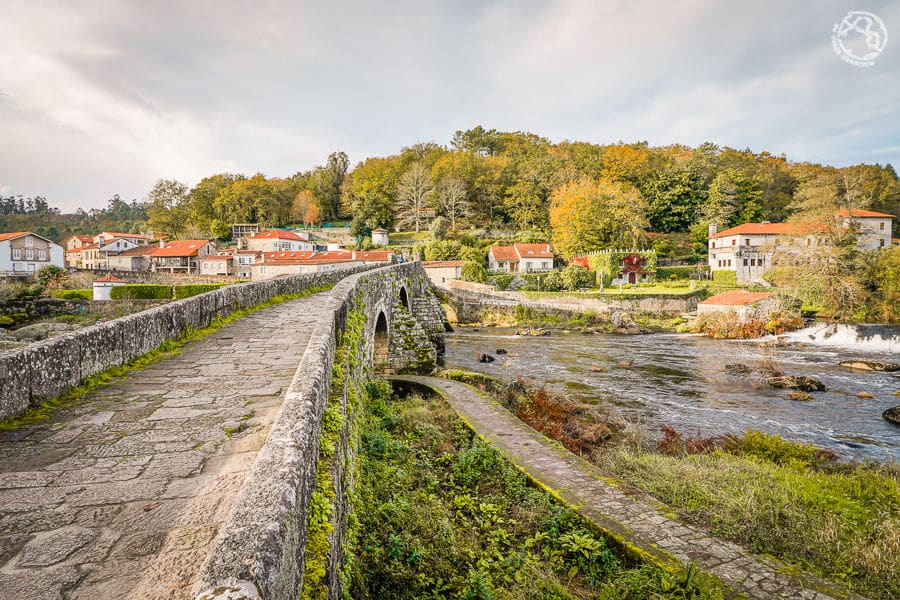 Ponte Maceira camino Santiago viaje Galicia