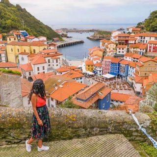 Ruta costa Asturias mapa pueblos playas