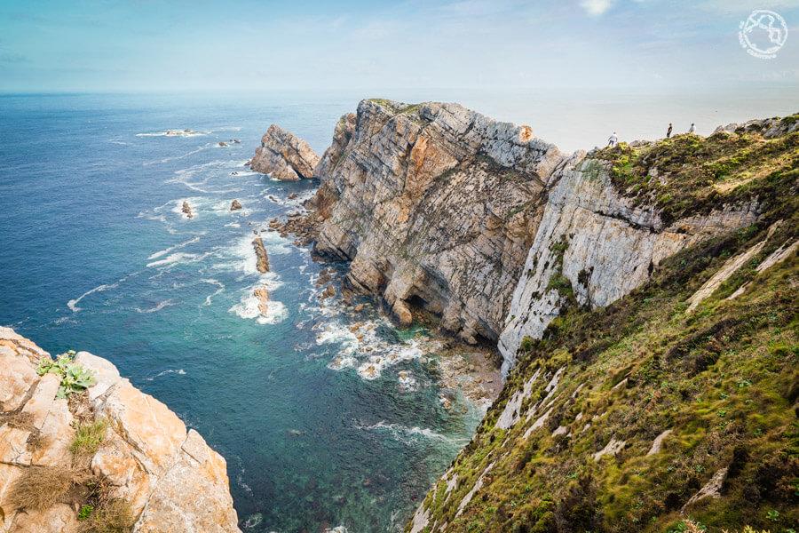 Ruta costa de Asturias mapa