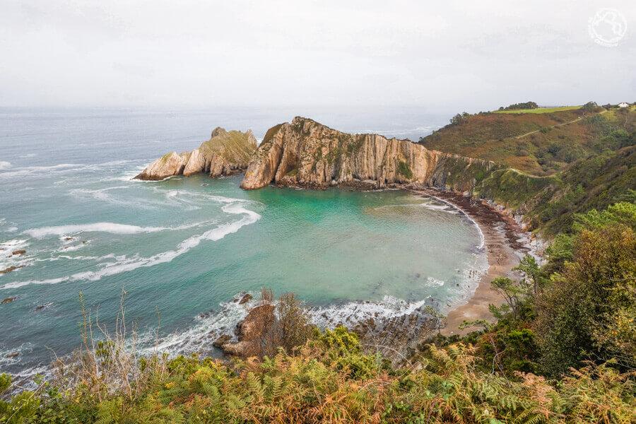 Ruta costa de Asturias playa del Silencio