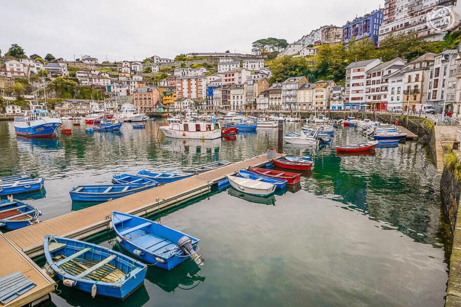 Luarca, ruta en coche por Asturias