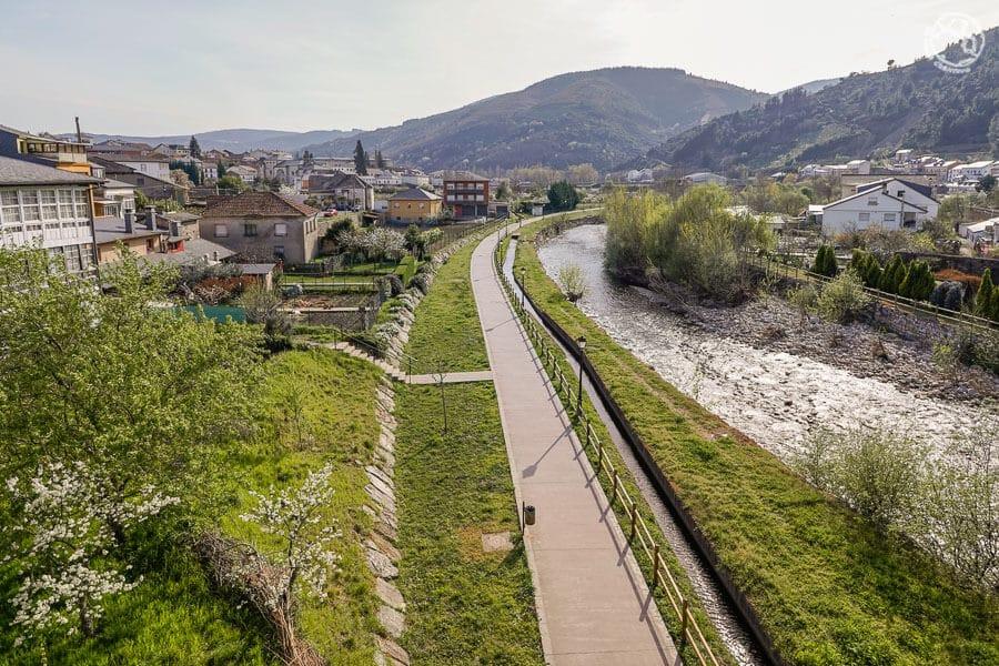Río Burbia León