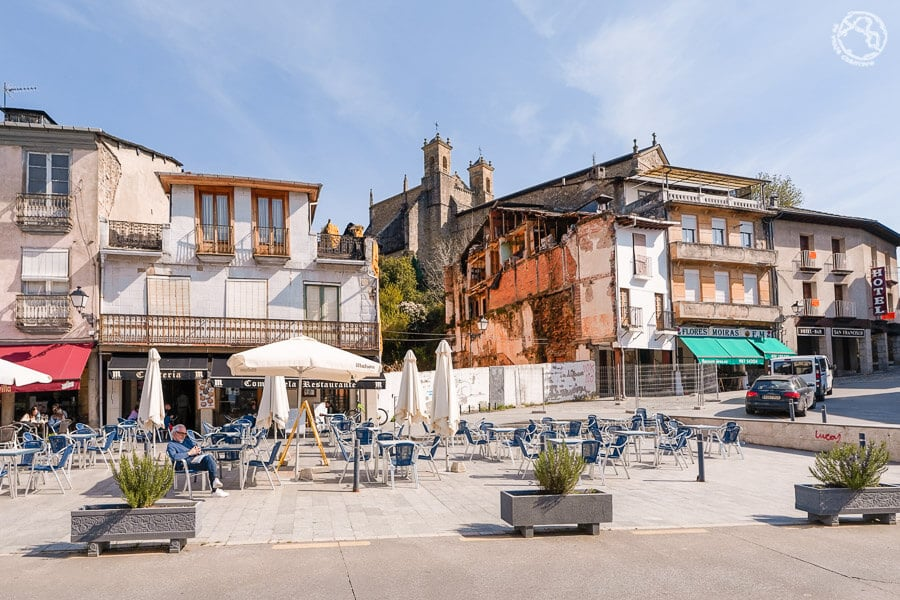 Plaza Mayor Villafranca del Bierzo