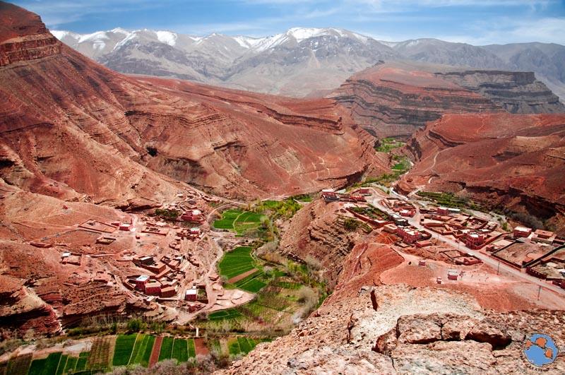 Garganta del Dades Marruecos