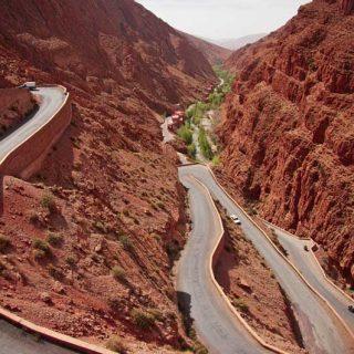 Gargantas del Dades Atlas Marruecos