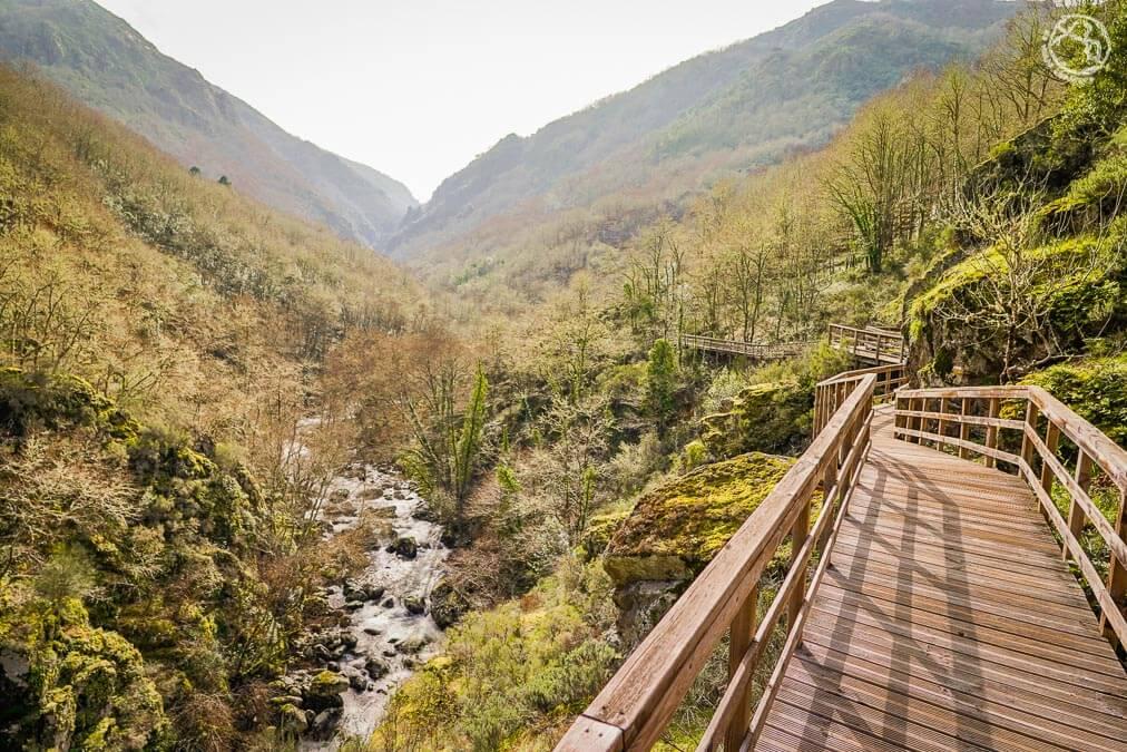 Pasarelas río Mao Cañón del Sil