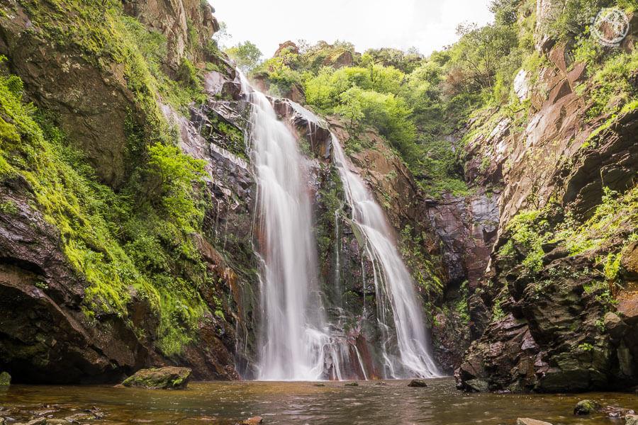 Qué visitar en Galicia en coche cascada de Toxa
