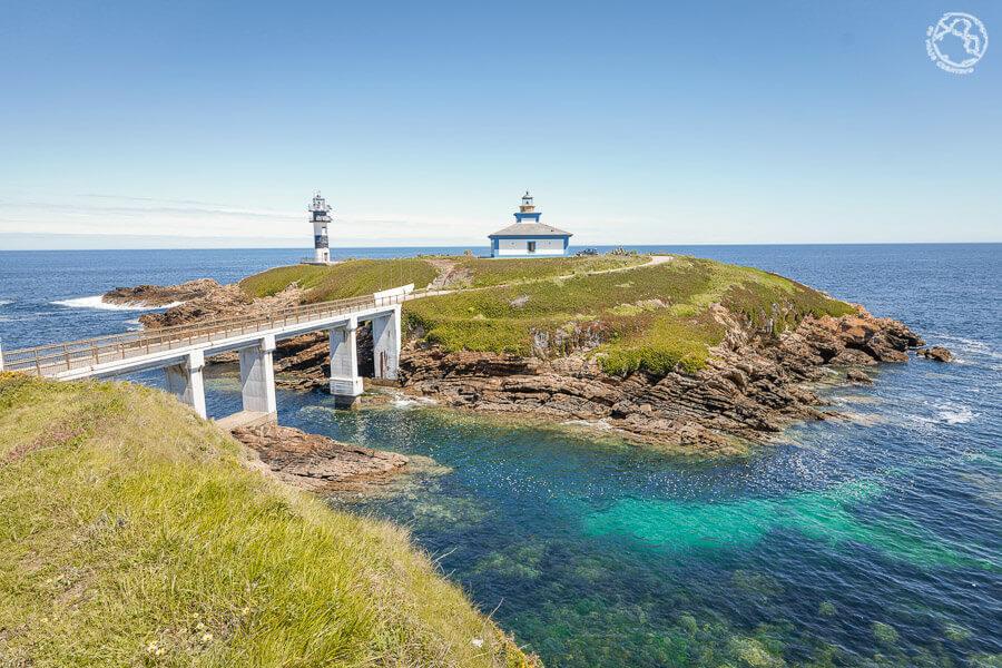 Qué visitar en Galicia Ribadeo Isla Pancha