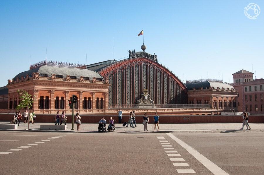 Estación de Atocha Madrid foto
