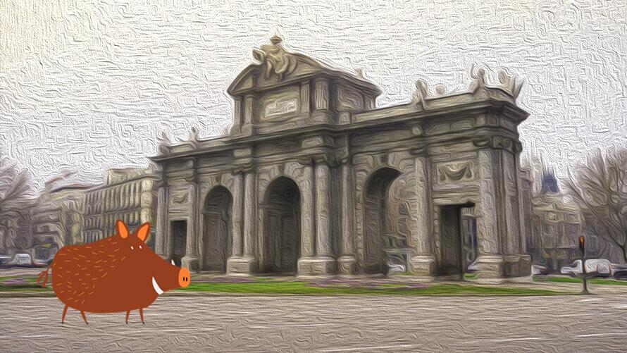 Puerta de Alcalá, Madrid visita