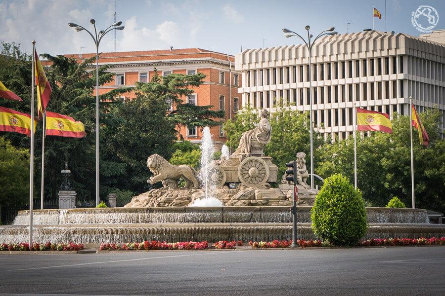Estatua de Cibeles Madrid