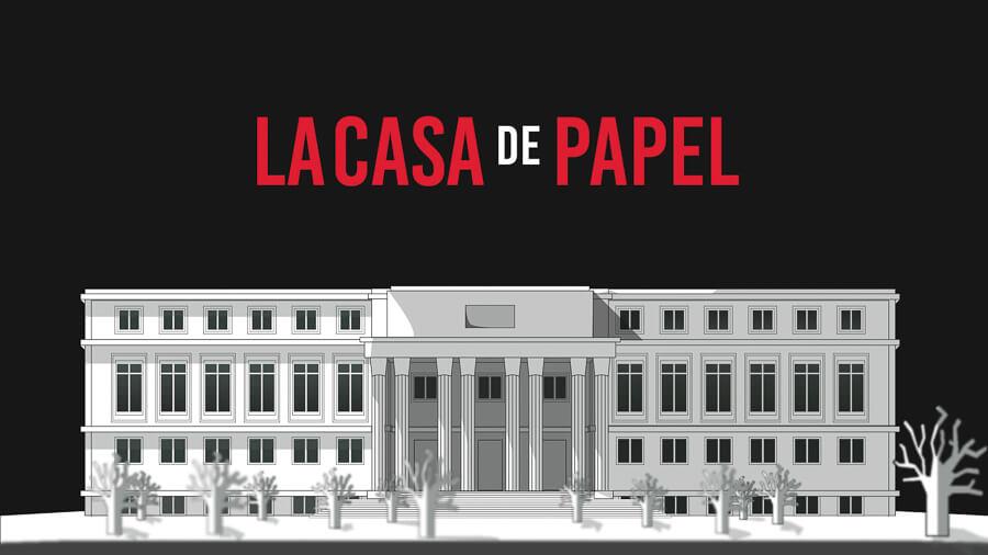 Madrid la casa de Papel casa de la Moneda