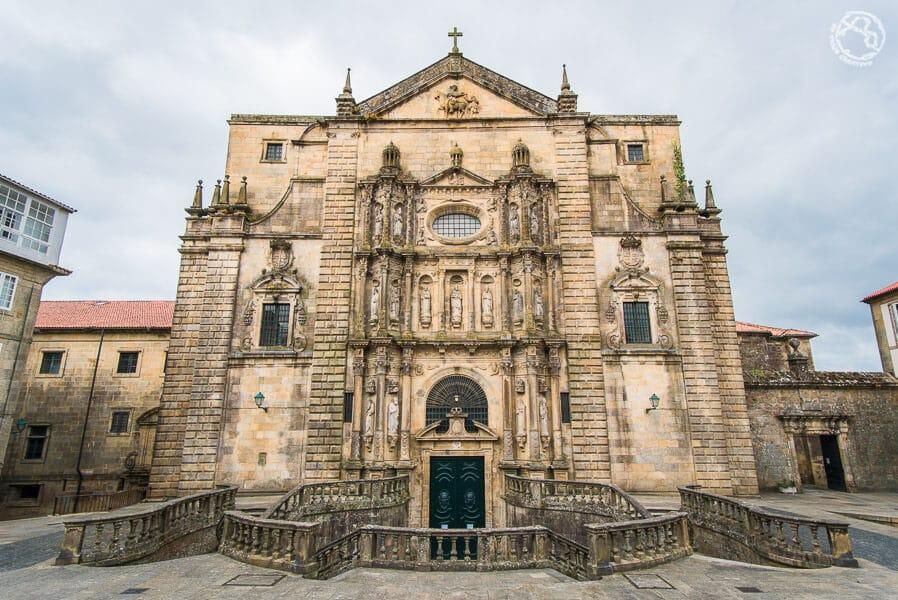 Iglesia de San Martiño Pinario Barroco Galicia